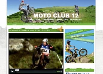 Nouveau site pour le Moto-club 12