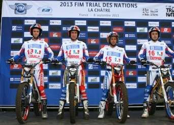 Equipe de France Trial des Nations 2013