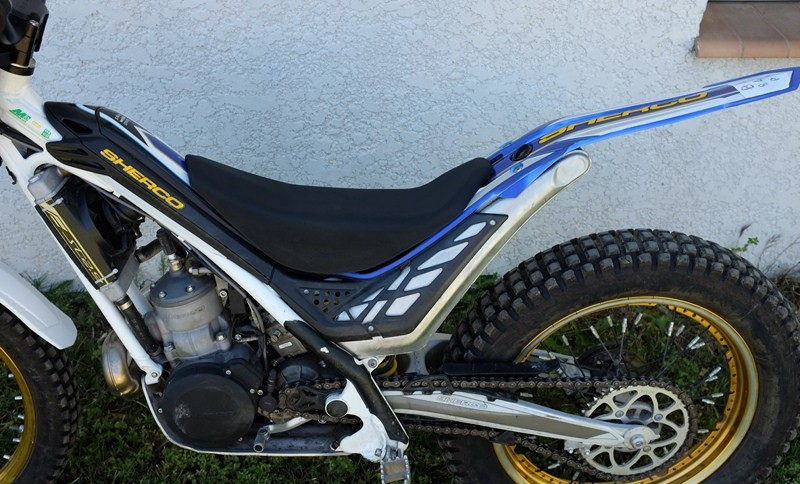 Honda Nord Sud >> Selle rando trial - Trial Magazine