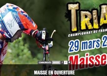 Championnat de France de Trial 2015 à Maisse