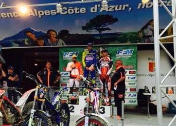 Championnat de France de Trial à Boade