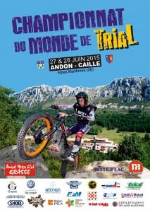 Championnat du Monde de Trial à ANDON-CAILLE (06)