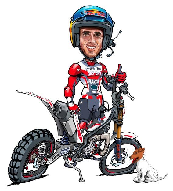 Concours dessin adam raga t 2015 trial magazine - Dessin moto trial ...