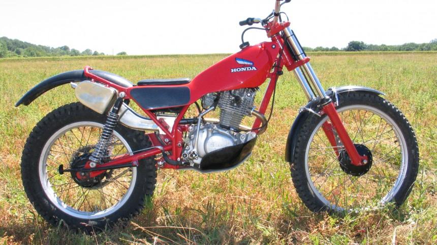 Honda TL 200 Seeley