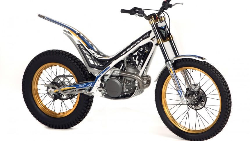 Nord Sud Honda >> Sherco ST 250 2012 - Trial Magazine
