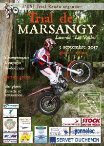 trial Marsangy 2017