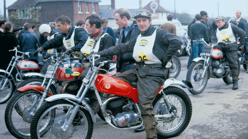 Don Smith sur une 250 Montesa 1968
