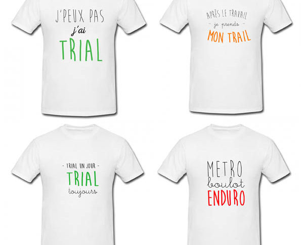 T-shirts TRIAL