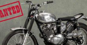 Triumph Cub volée